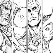 Amazing Poster of Super Hero Squad Coloring Page