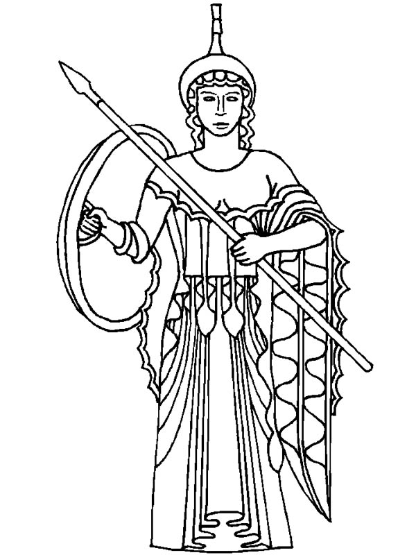 Greek mythology free colouring pages for Coloring pages of greek gods
