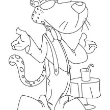 chester the cat coloring pages - photo#15