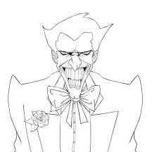 Awesome Joker Coloring Page