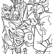Marvel Villains Colouring Page'S 111