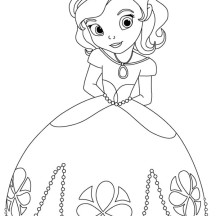 Beautiful Doc McStuffins Coloring Page