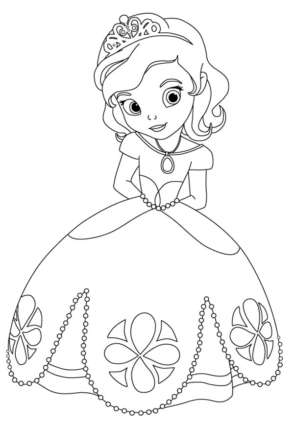 Beautiful Doc McStuffins Coloring Page NetArt