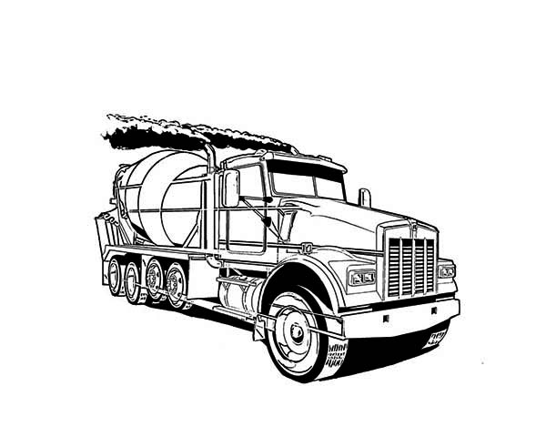 Cement Truck in Semi Truck Coloring Page moreover 18 wheeler coloring pages 1 on 18 wheeler coloring pages further 18 wheeler coloring pages 2 on 18 wheeler coloring pages also with 18 wheeler coloring pages 3 on 18 wheeler coloring pages together with 18 wheeler coloring pages 4 on 18 wheeler coloring pages