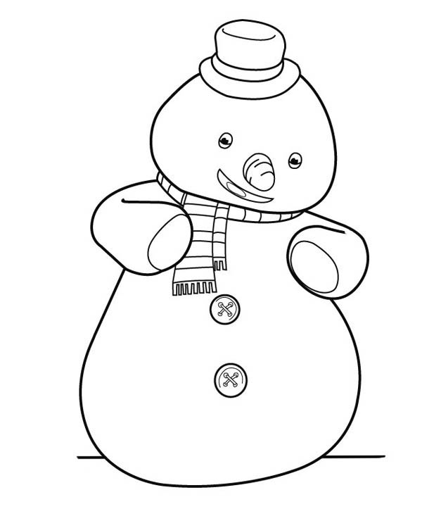 Chilly from Doc McStuffins Coloring Page NetArt