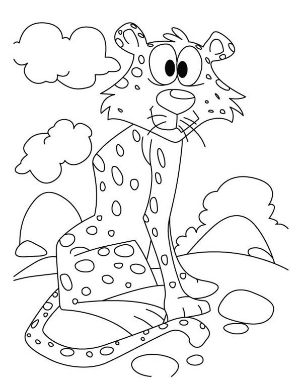 Free coloring pages of tinga tinga tales for Tinga tinga coloring pages