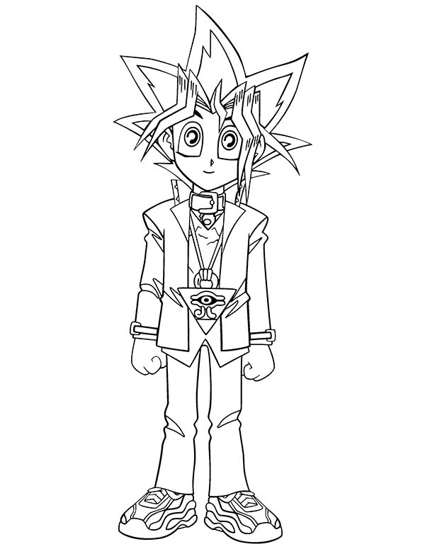 Cute little yugi muto in yu gi oh coloring page netart cute little yugi muto in yu gi oh coloring page ccuart Gallery