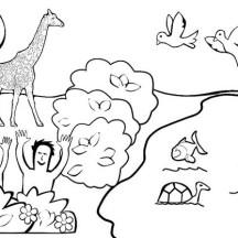Garden of eden netart for Garden of eden coloring page