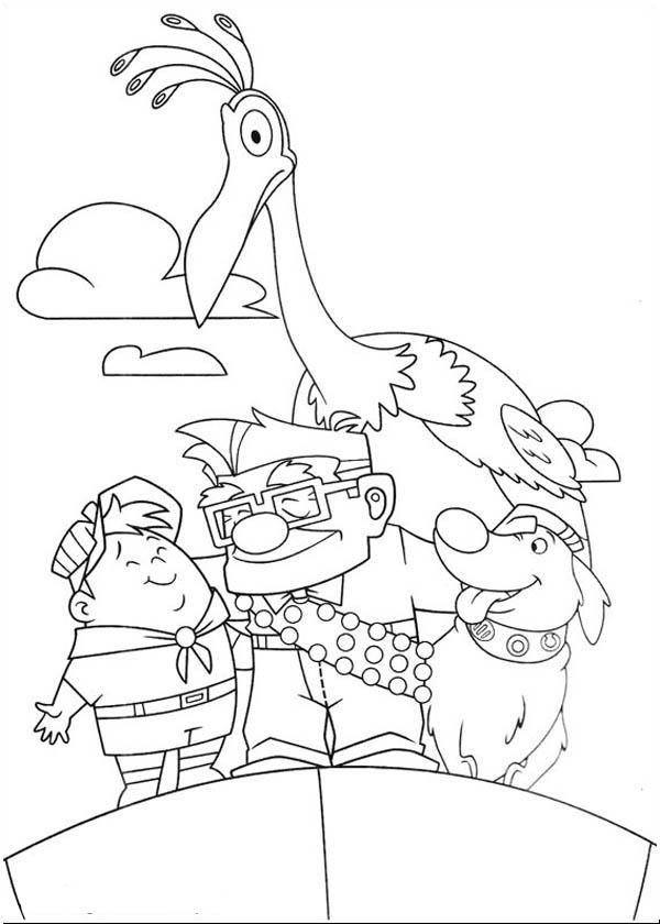 Disney Up Main Character Coloring