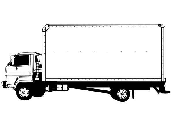 Drawing semi truck coloring page netart for Semi truck coloring pages
