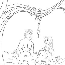 Garden of God is the Garden of Eden Coloring Page