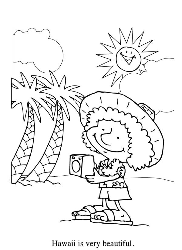 hawaiian coral reef coloring pages - photo#23