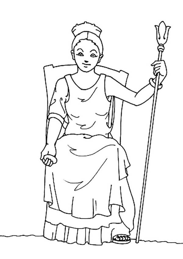 Greece Free Coloring Pages