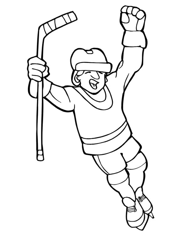field hockey printable coloring pages - photo#19