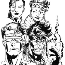 Marvel's X Man Super Hero Squad Coloring Page