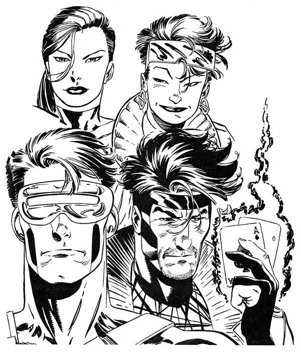 Marvel\'s X Man Super Hero Squad Coloring Page - NetArt