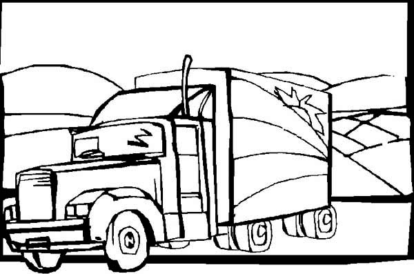 free coloring pages of oil tanker
