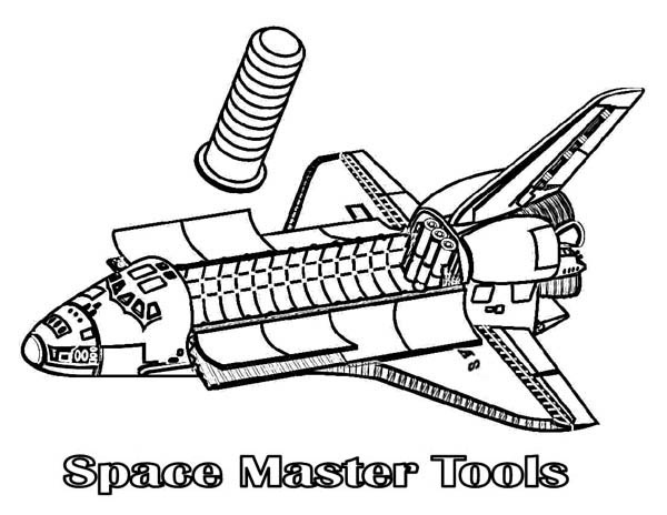 From Inside Coloring Page Spaceship From Inside Coloring Page