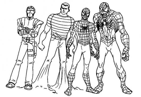 Super hero squad image coloring page netart for Super hero squad coloring page