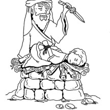 Abraham Scarifice Isaac for Gods Command