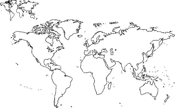 All nations world map coloring page netart all nations world map coloring page gumiabroncs Choice Image