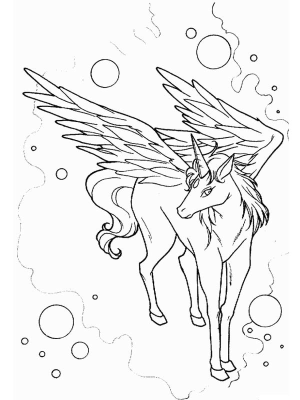 Galaxy pegasis free coloring pages for Coloring pages of pegasus