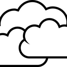 Beautiful Clouds Coloring Page