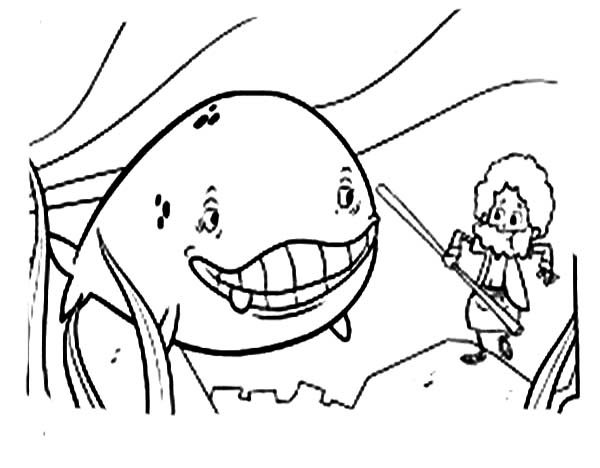 jonah and the whale clip art free jonah coloring pages free ... - Jonah Whale Coloring Page