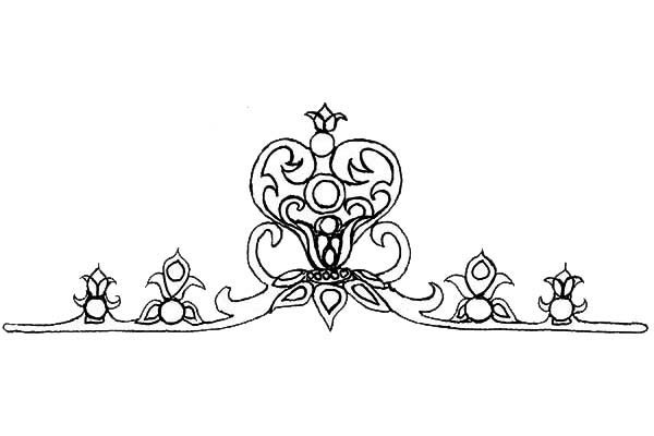 Birthday Princess Crown Coloring Pages Coloring Pages Princess Crown Coloring Page