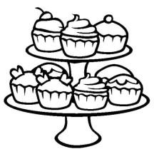 cupcake netart