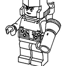 Cute Little Megatron Coloring Page
