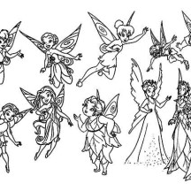 Disney Pixie Heroes Fairies Coloring Page