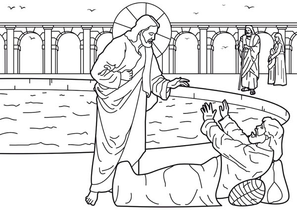 Healing of the Man at the Pool of Bethesda is One of Miracles of
