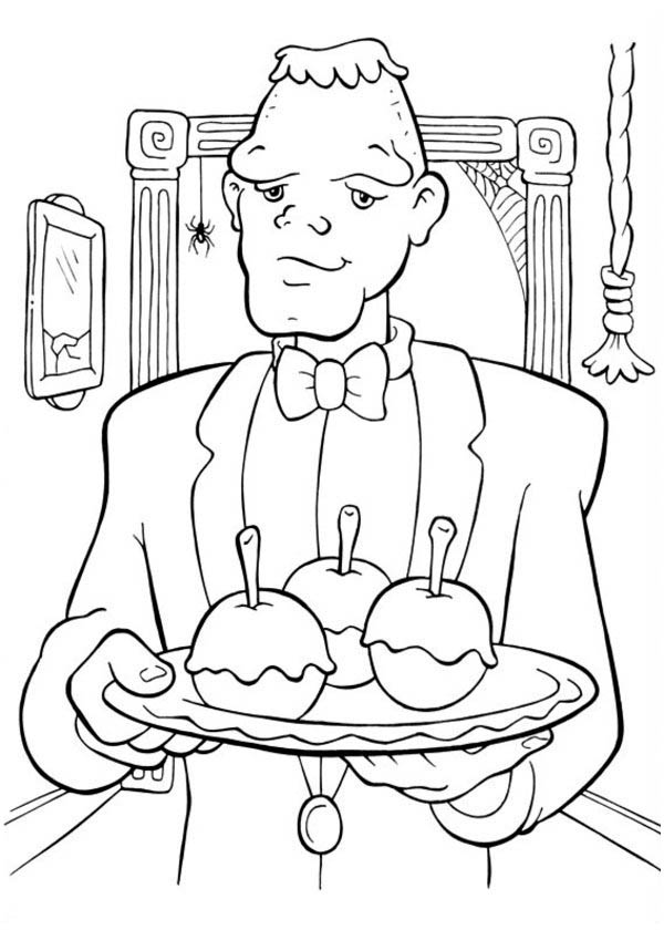 servant coloring pages - photo#24