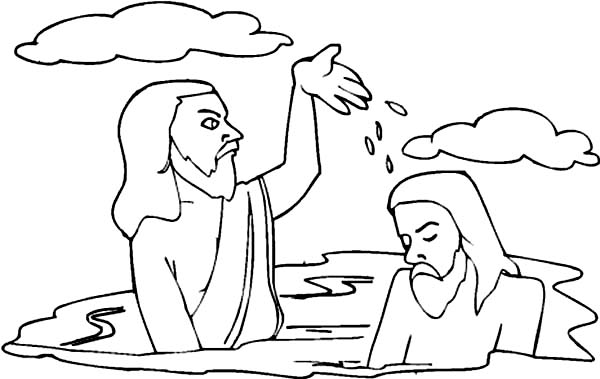 john splashing water to jesus head in john the baptist coloring rh netart us splashlings coloring pages splashlings coloring pages