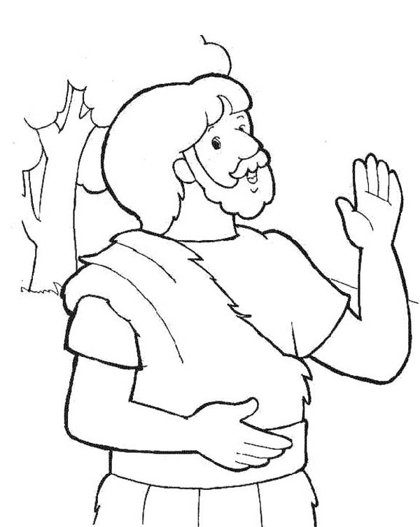 coloring pages john the baptist - photo#29