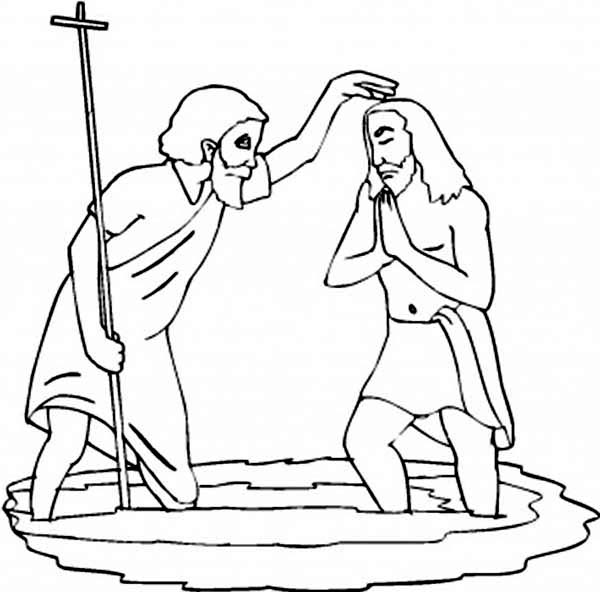 baptism shell coloring pages - photo#14