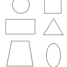 Learn to Draw Basic Shapes Coloring Page