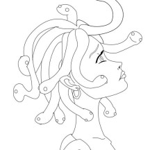 medusa drawing for kids manga drawing medusa