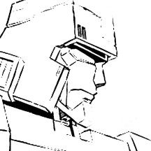 Megatron Head Picture Coloring Page