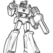 Megatron Picture Coloring Page