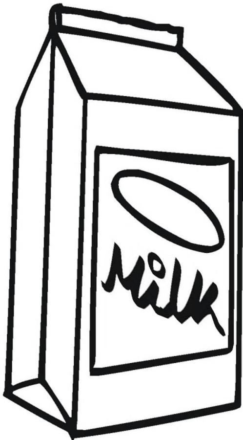 milk carton coloring pages - photo#5