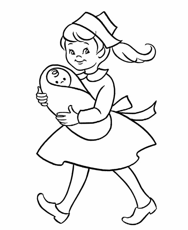 taking care flower coloring pages - photo#30
