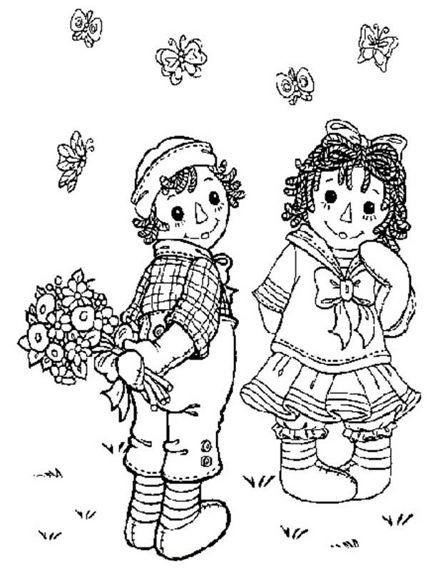 Surprise for Raggedy Ann from Andy in Raggedy Ann and Andy