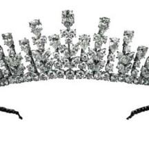 Tiara of Princess Grace of Monaco 1976 in Design of Princess Crown Coloring Page