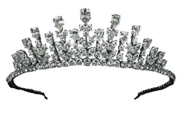 Tiara of Princess Grace of Monaco 1976 in Design of Princess Crown