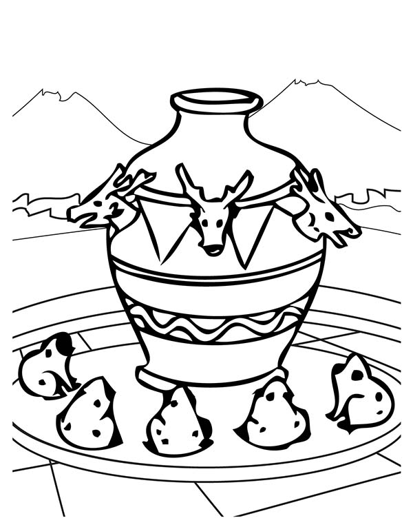 Ancient China Map Coloring Page Finished Coloring Pages Ancient China Coloring Pages