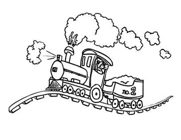 lionel train coloring pages - photo#2