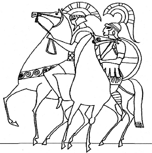 ancient greek coloring pages - photo#26