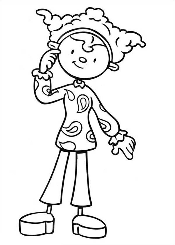 jojo circus coloring pages - photo#20